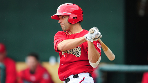 Danny Espinosa had his first two-homer game a year ago for Potomac.