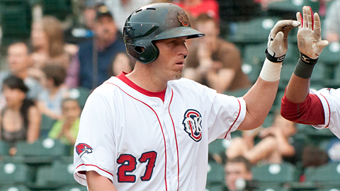MiLB active home run leader Mike Hessman added five more to his total.