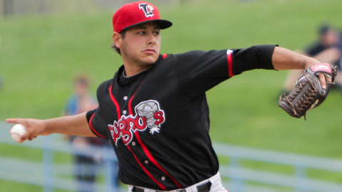 Jesse Hernandez ranks seventh in the Midwest League with a 2.29 ERA.